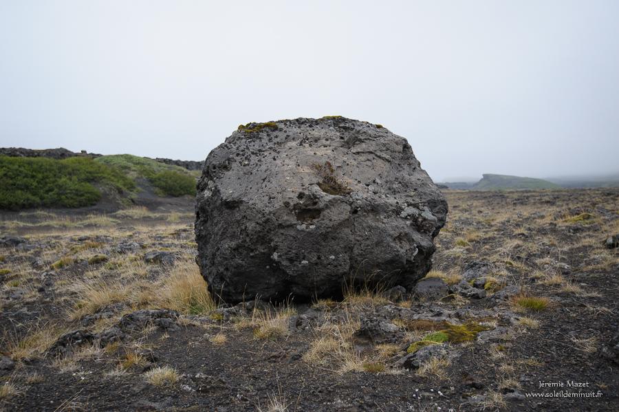 bombe volcanique en Islande