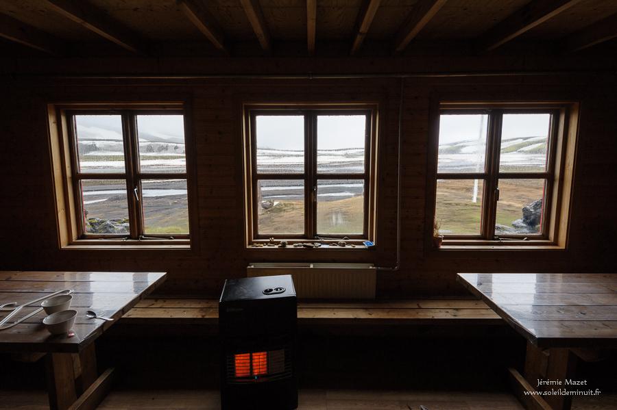 refuge islandais de Strutur