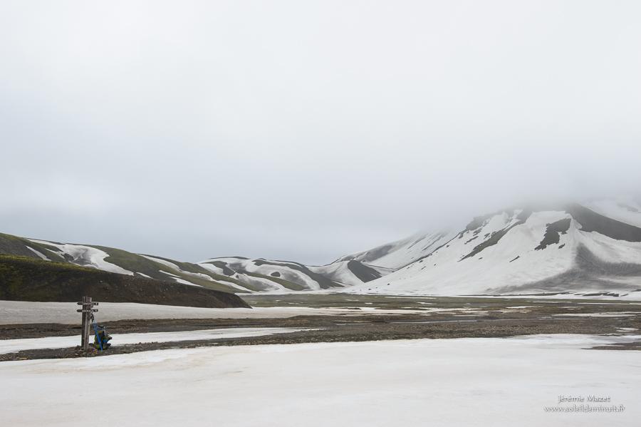 trek en islande dans la réserve de Fjallabak
