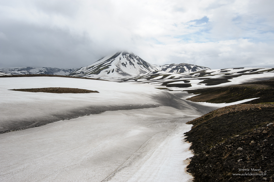 randonnée sous le Torfajökull