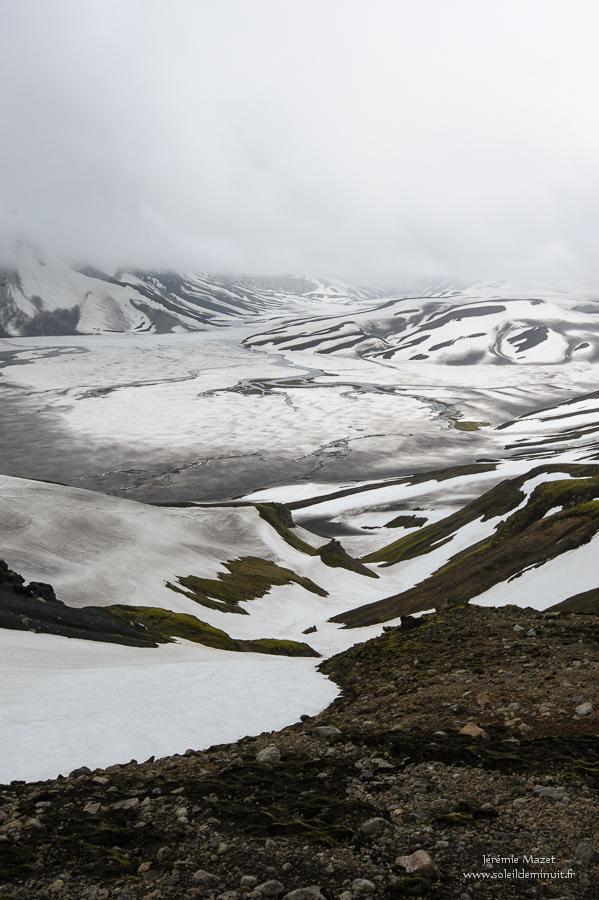 lac holmsarlon pres du Torfajökull
