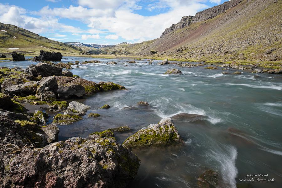faille d'Eldgjà dans le parc national de Vatnajökull