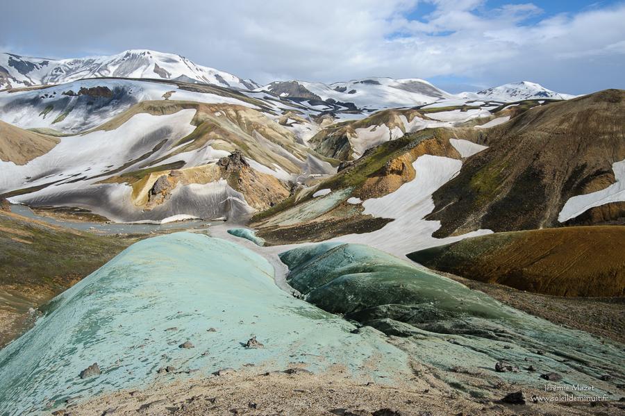 les roches bleues de Sveinsgil