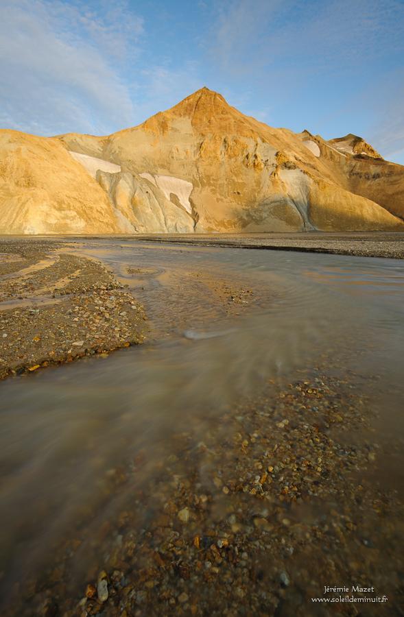 paysage de la réserve de Fjallabak en Islande