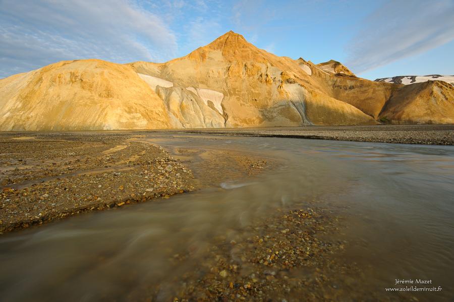 paysage de la réserve de Fjallabak en Islande, Hnausar