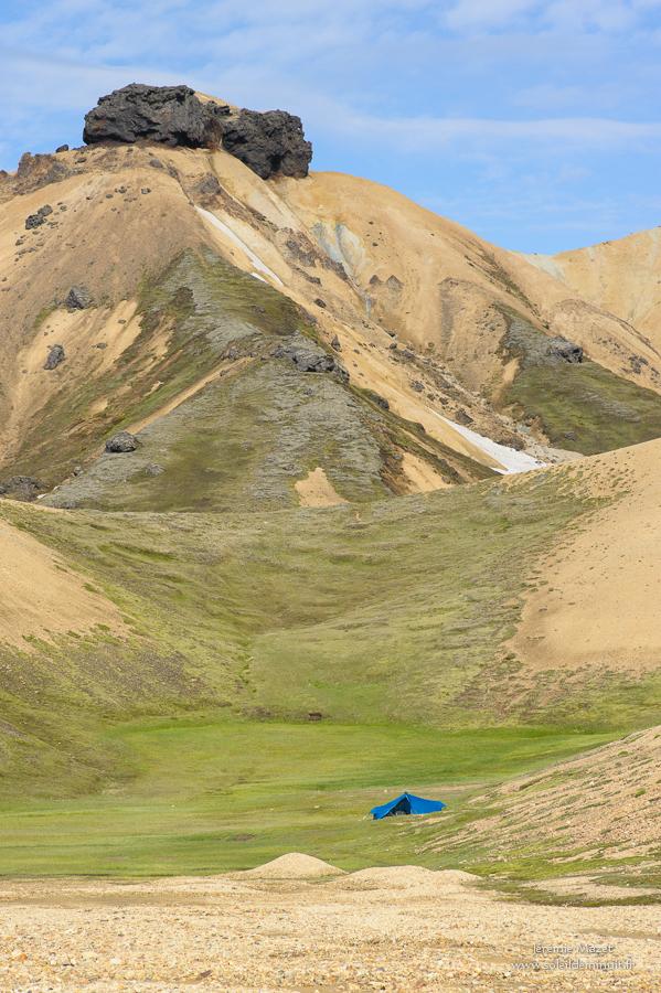 bivouac dans les Fjallabak en Islande