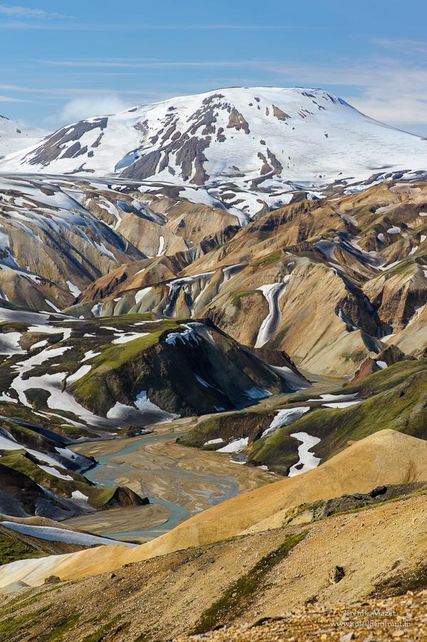 vallée de la Jokulgil en Islande