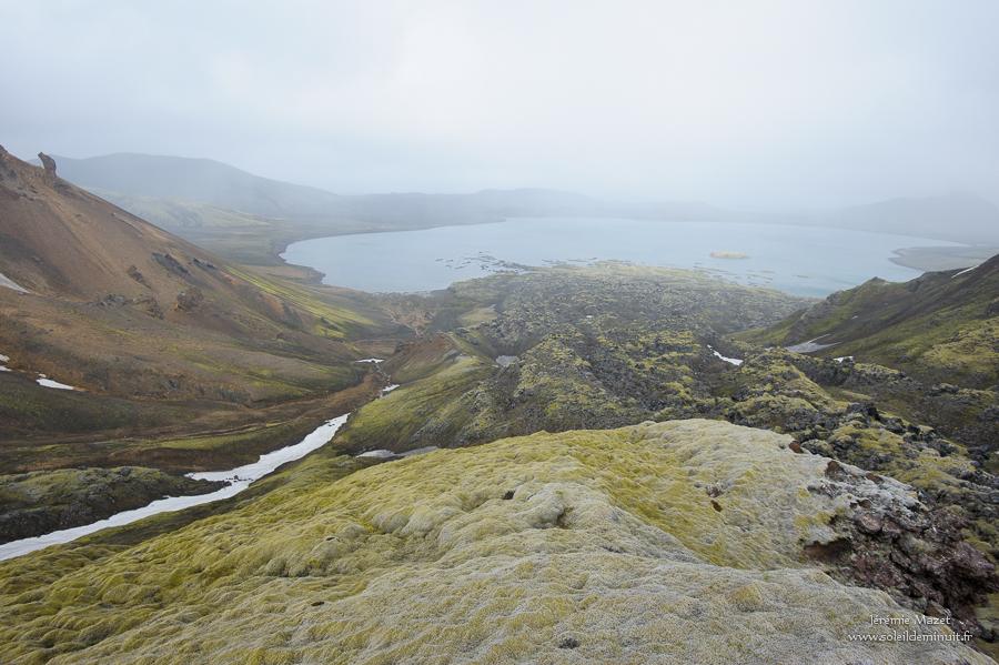lac Frostastadavatn en Islande