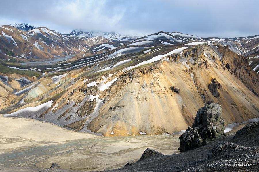 canyon de Brandsgil en Islande