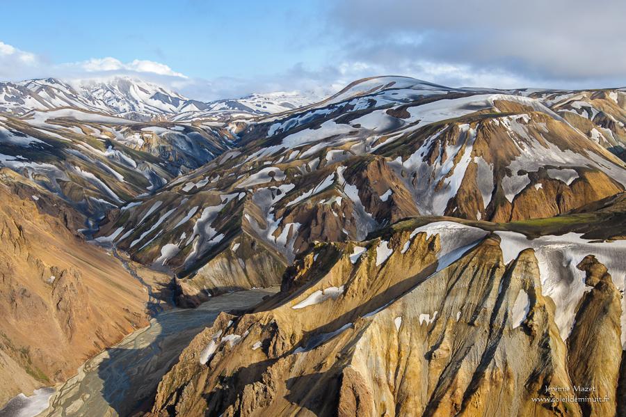 montagne coloré du Landmannalaugar