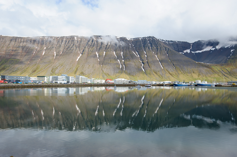 Isafjördur , capitale des fjords de l'ouest