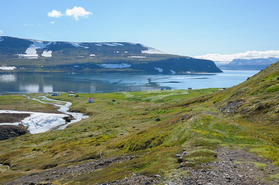 village d'Hesteyri en Islande