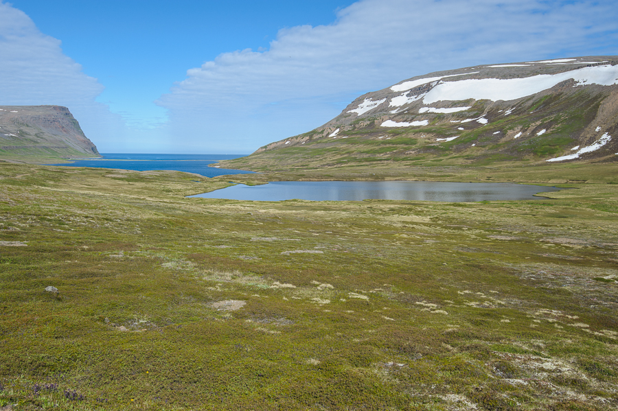 baie de Rekavik en Islande