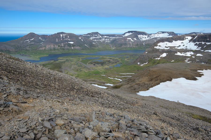 trek dans le Hornstrandir, fjords de l'ouest