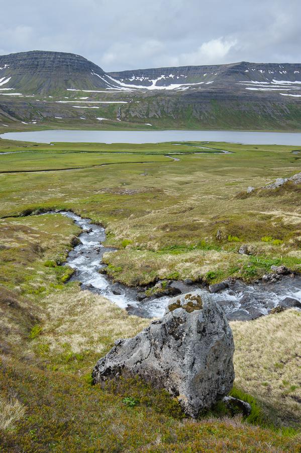 lac fljötsvatn , fjords de l'ouest