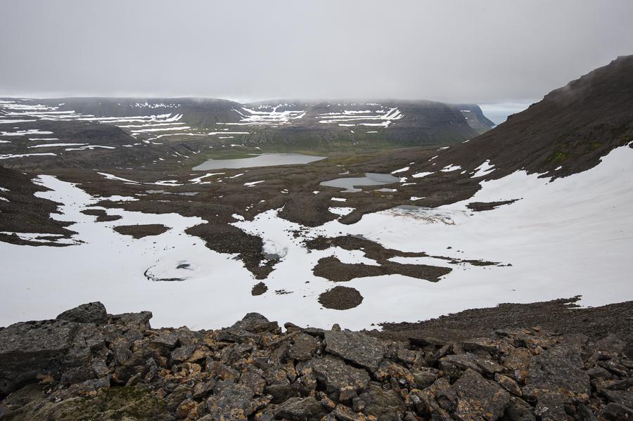 paysage des fjords de l'ouest en Islande