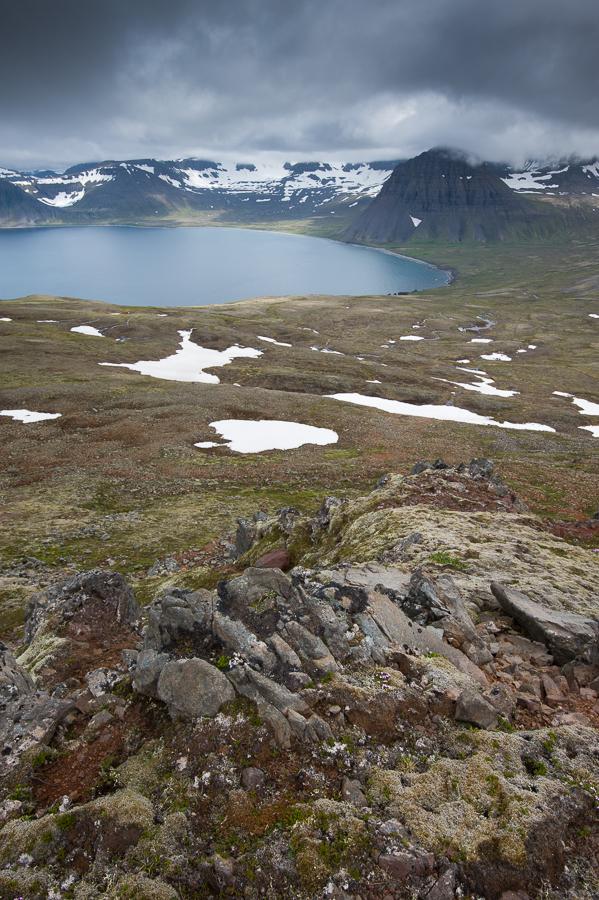 baie d'Haelavik dans le Hornstrandir