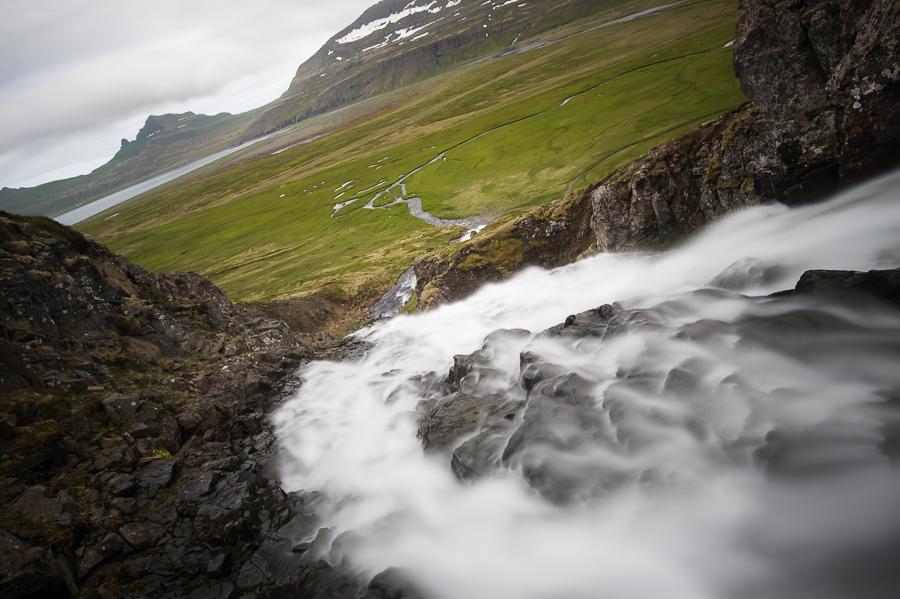 torrent en Islande dans le Hornstrandir