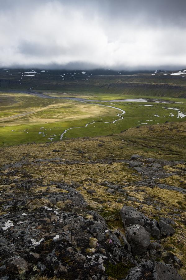 paysage de la baie d'hornvik