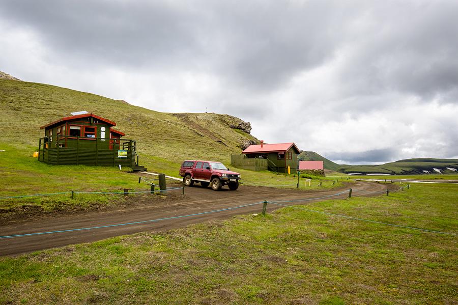 refuge et camping de Landmannahellir