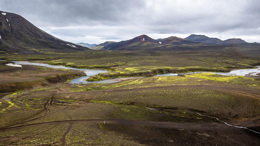 plaine de la Markarfljót près de Dalakofinn