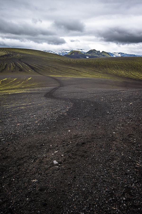 piste 4*4 dans les hautes terres d'Islande