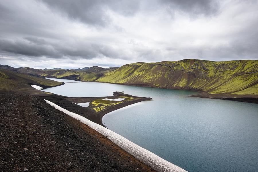lac skyggnisvatn en islande