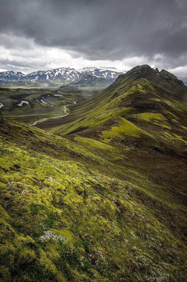 ascension de Skyggnir en Islande