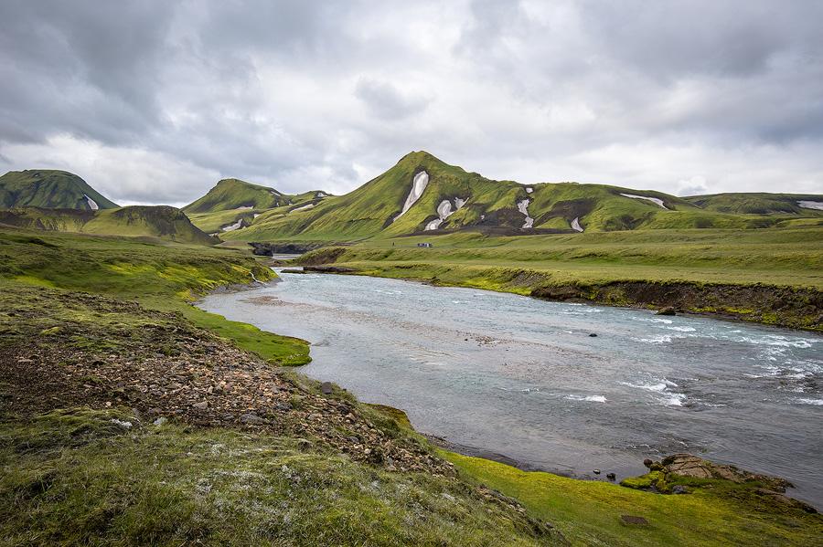 refuge de Krokur au sud de l'Islande