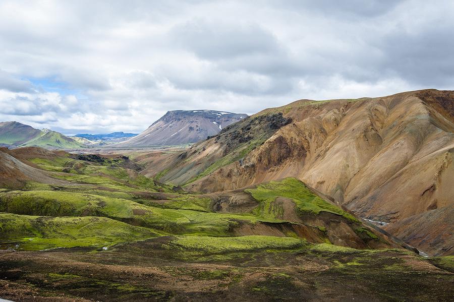 vallée de la Ljosa dans les fjallabaks