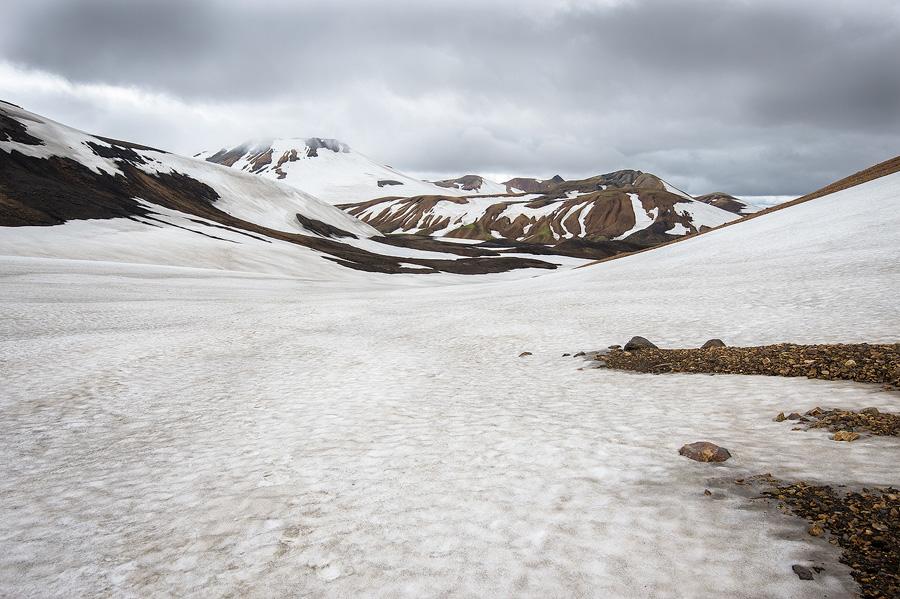 névé en Islande