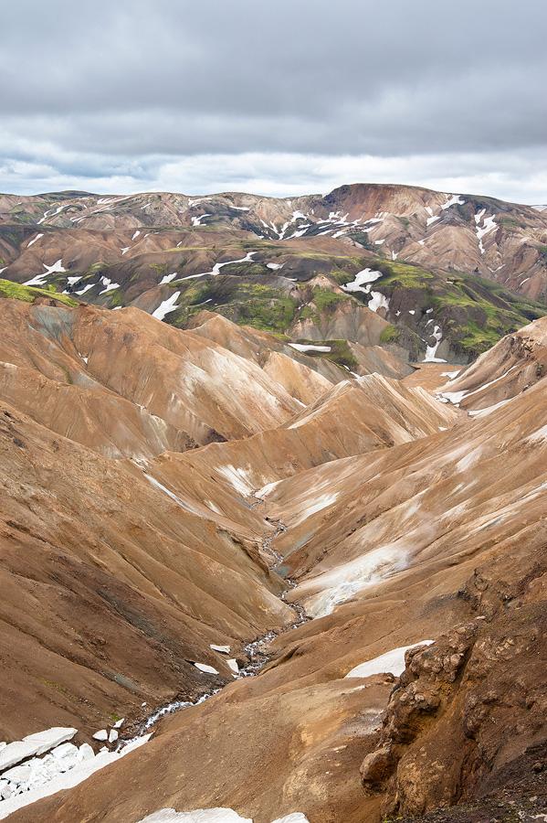 source chaude près du Landmannalaugar en islande