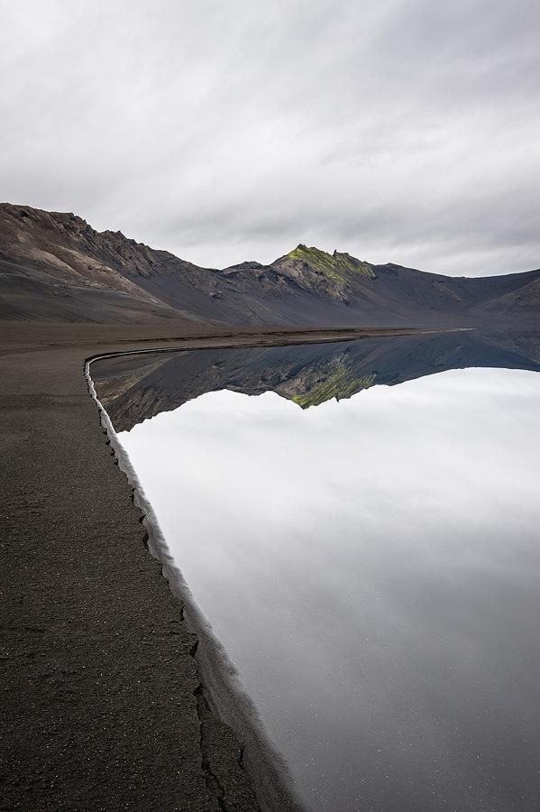 désert en Islande