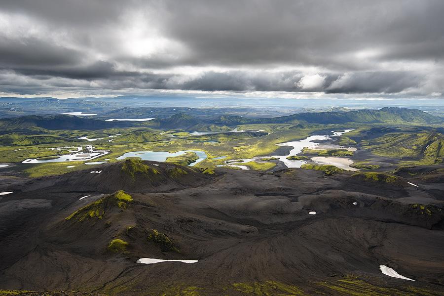 rivière skafta au sud de l'islande