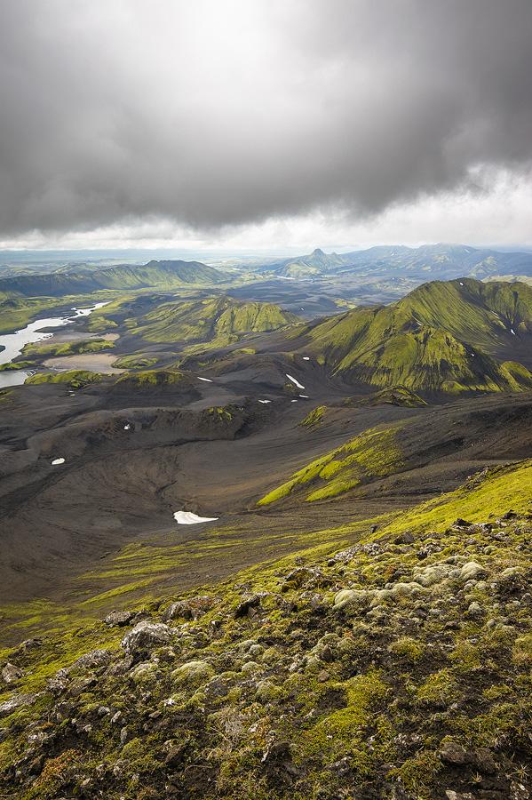 vallée de la Skafta et uxatindar en Islande