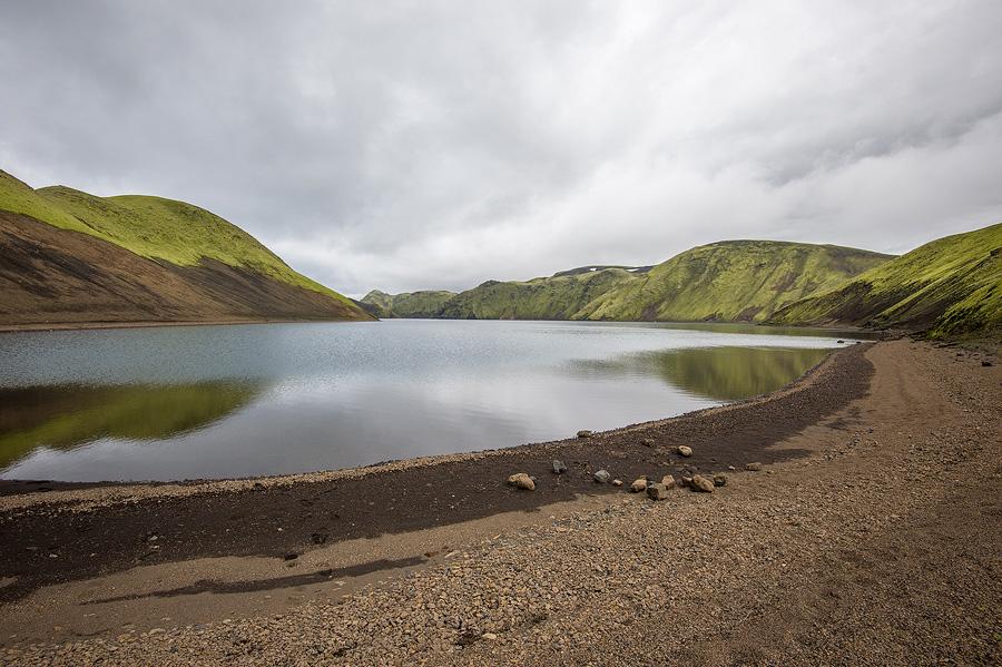petite lac sous les fögrufjoll