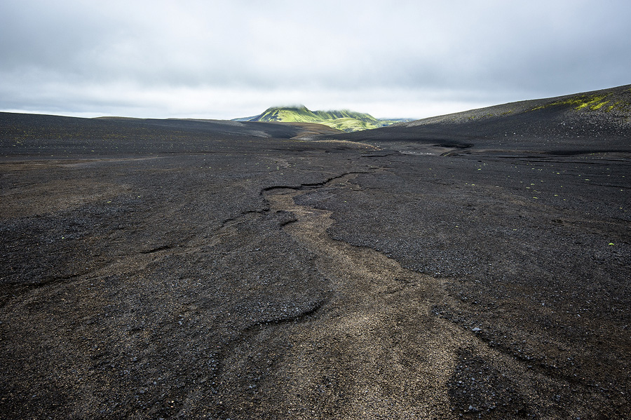 paysage de désert en islande