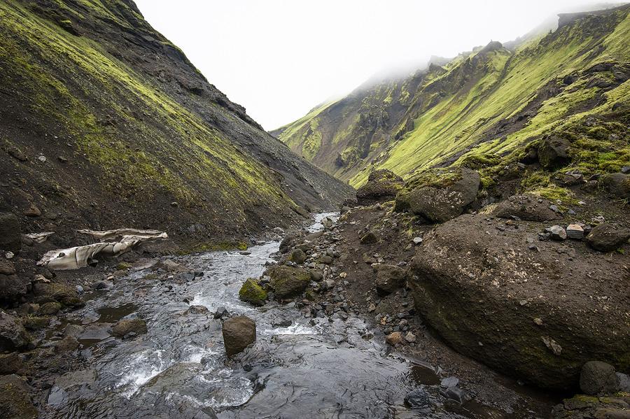canyon d'uxatindar sur le Strutivegur