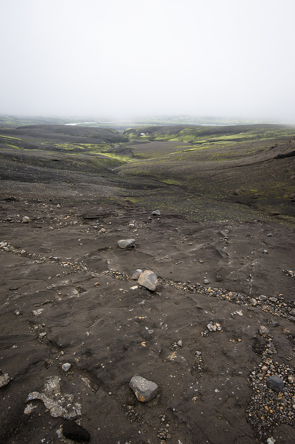 plateau volcanique en Islande