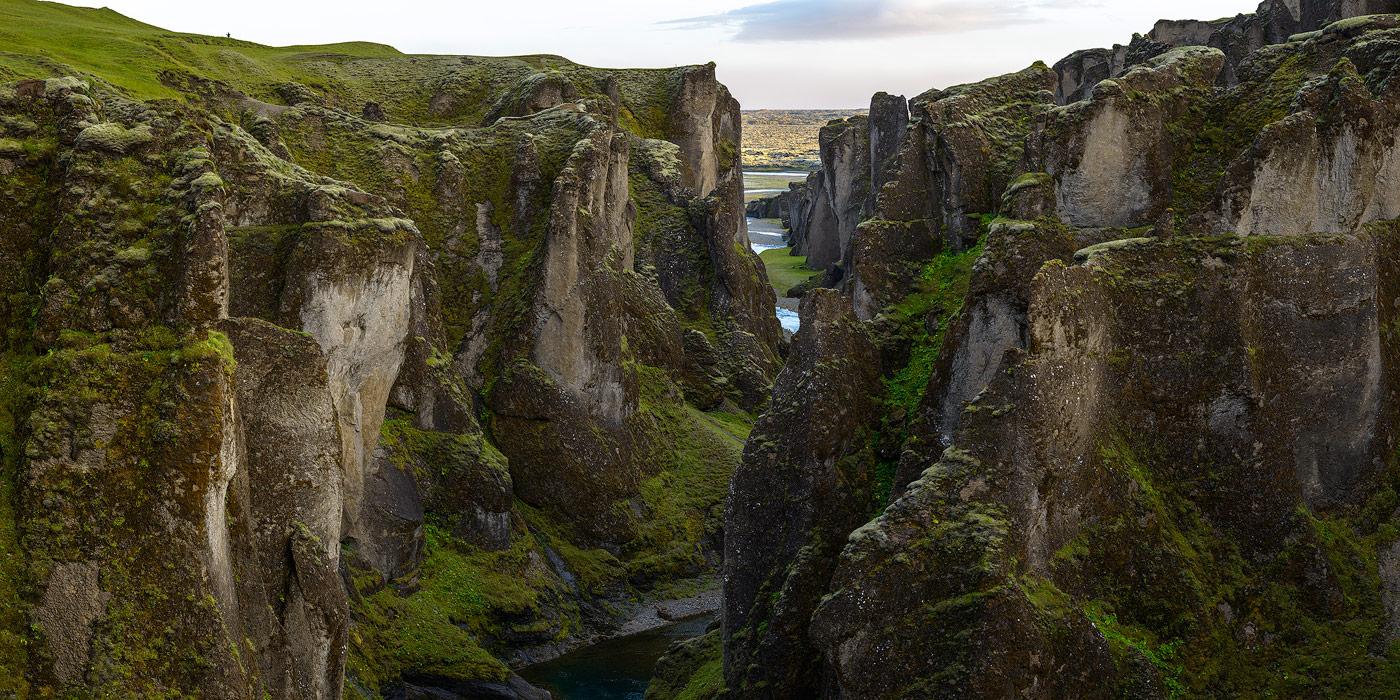 canyon de fjaðrárgljúfur en Islande