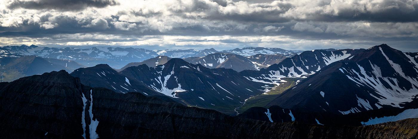 fjords du nord de l'islande