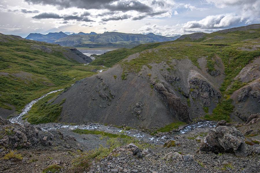 près de Stafafell en Islande