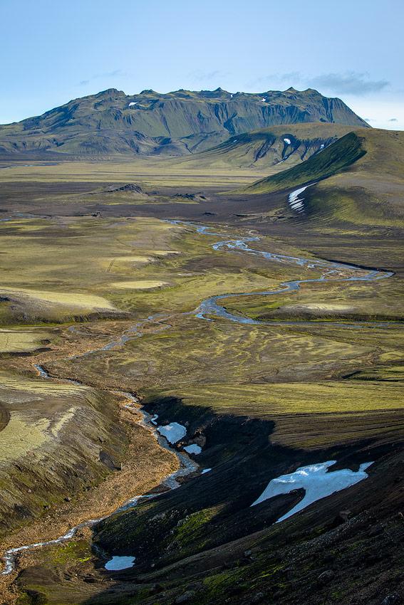 Lödmundur dans la réserve de Fjallabak, en Islande
