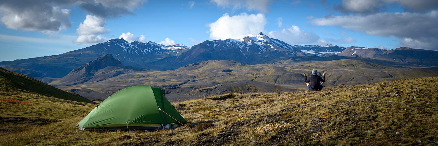 bivouac en Islande