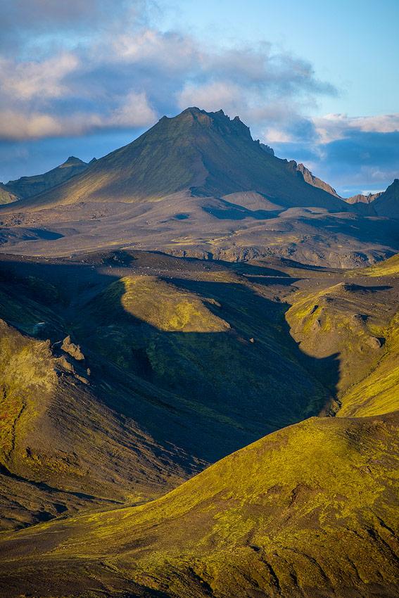 montagne Sotra-mofell, près de Thorsmörk, en Islande