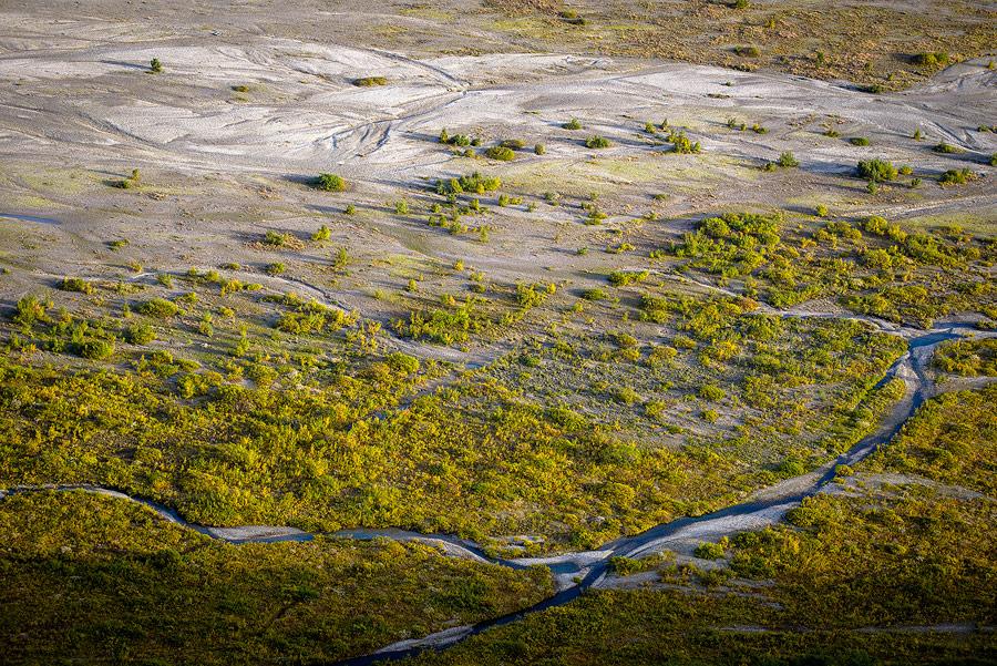 vallée de la Morsa dans le parc national de Skaftafell au sud de l'Islande