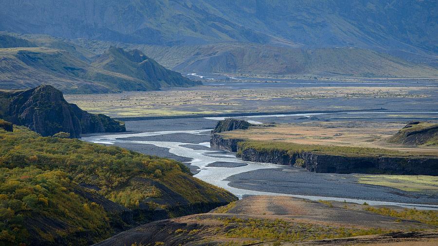 husadalur en Islande