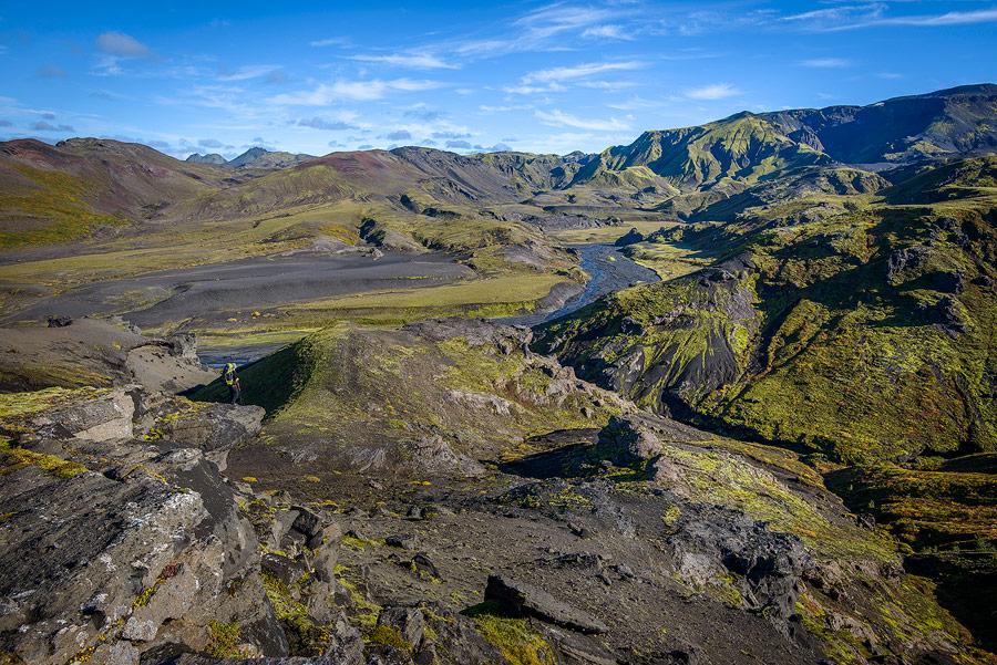 trekking à thorsmörk en Islande