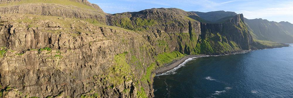 Viðvík sur l'île de Vagar