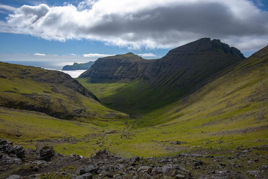 paysage de vagar sur les Îles Féroé